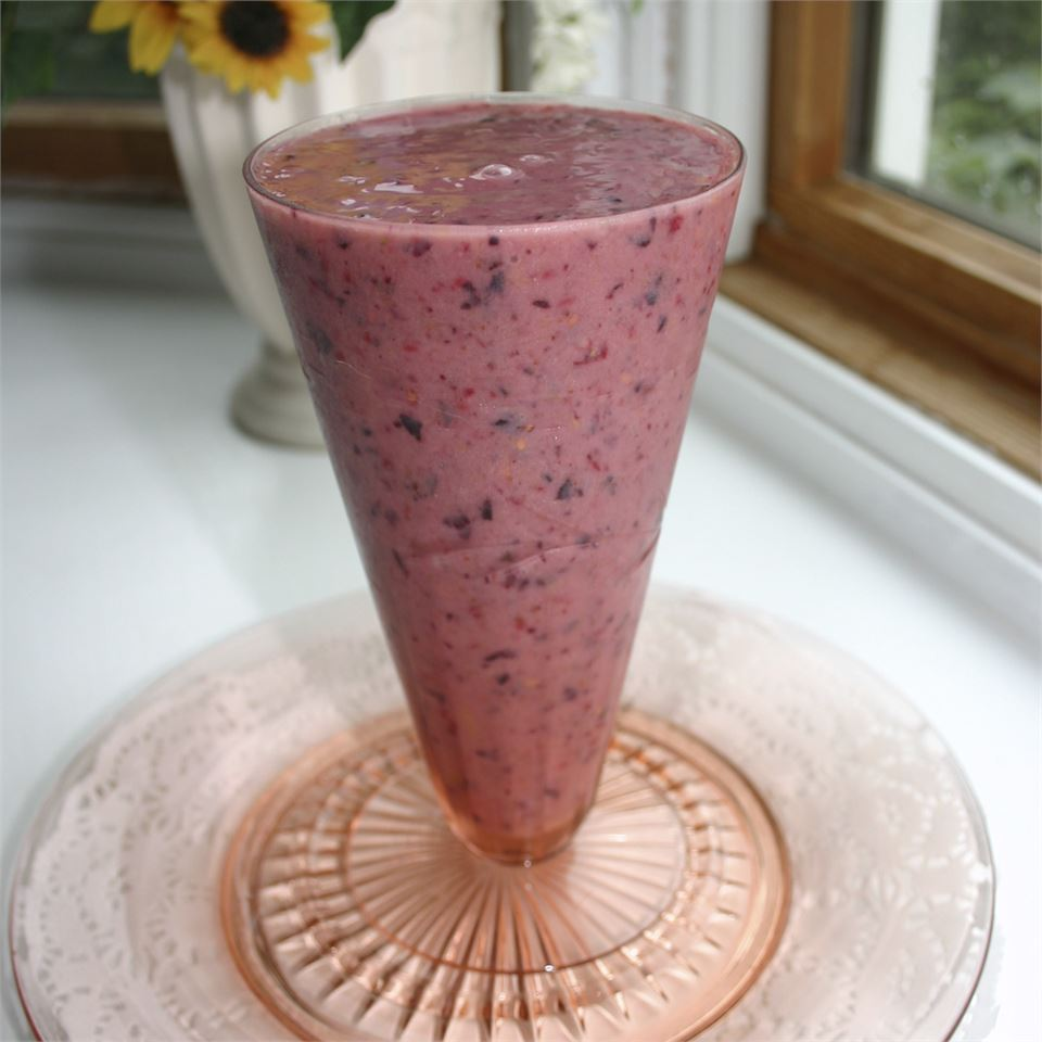 Super Healthy Fruit Smoothie Micahlynn