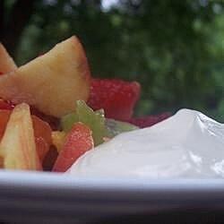 creamy dip for fruit recipe
