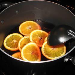 Hot Spiced Cranberry Cider jmarie