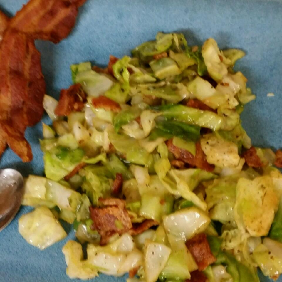 Fried Irish Cabbage with Bacon Lordchronos