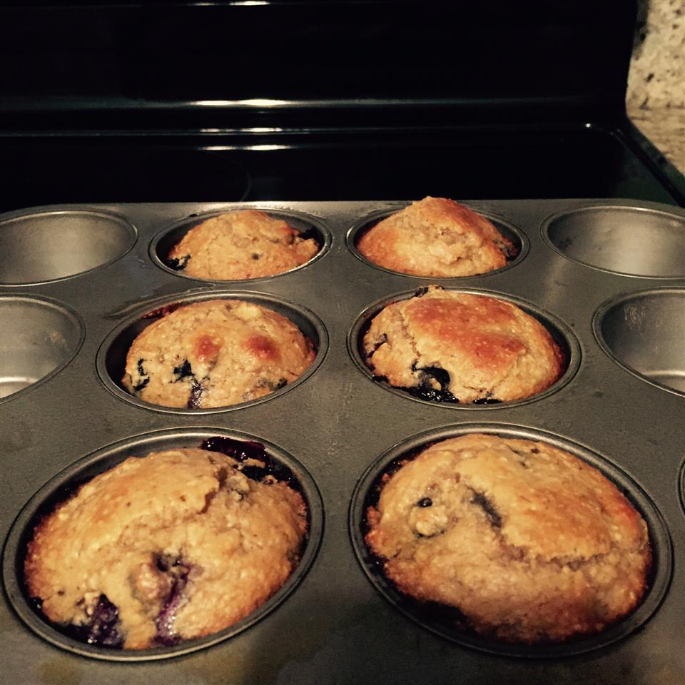 Banana Blueberry Almond Flour Muffins (Gluten-Free) Pam B.