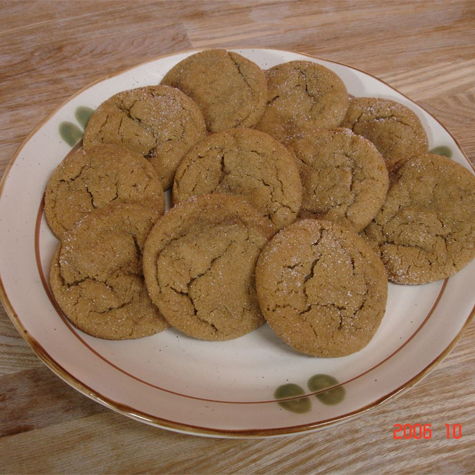 Fresh Ginger Cookies M. Fosco