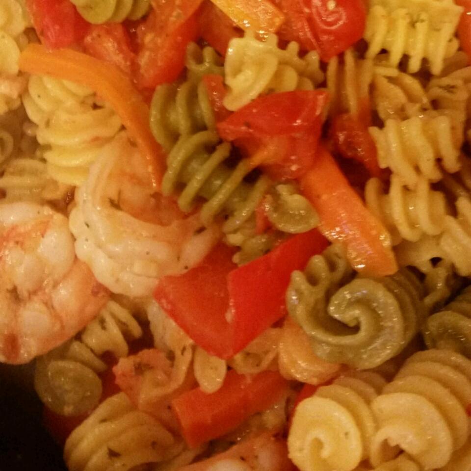 Easy Shrimp and Veggie Pasta Fresca Deborah Morales