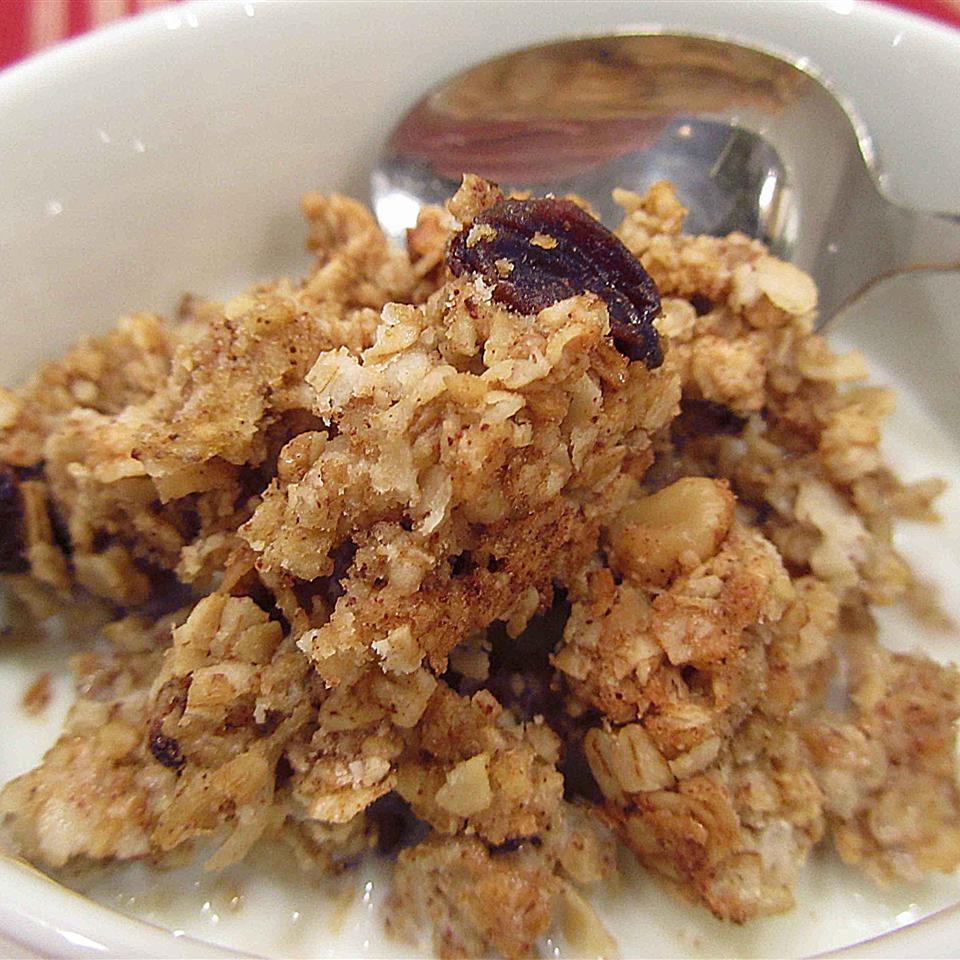 Crispy Baked Oatmeal Linda