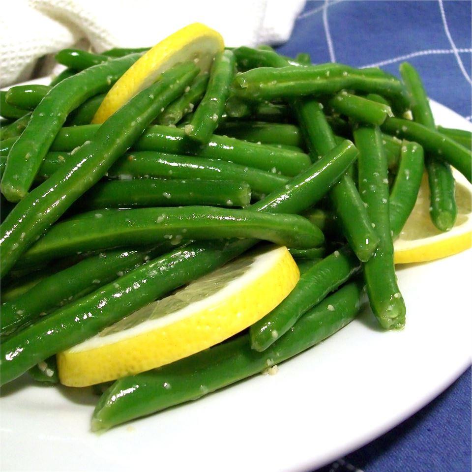 Lemon-Garlic Green Beans SunnyByrd