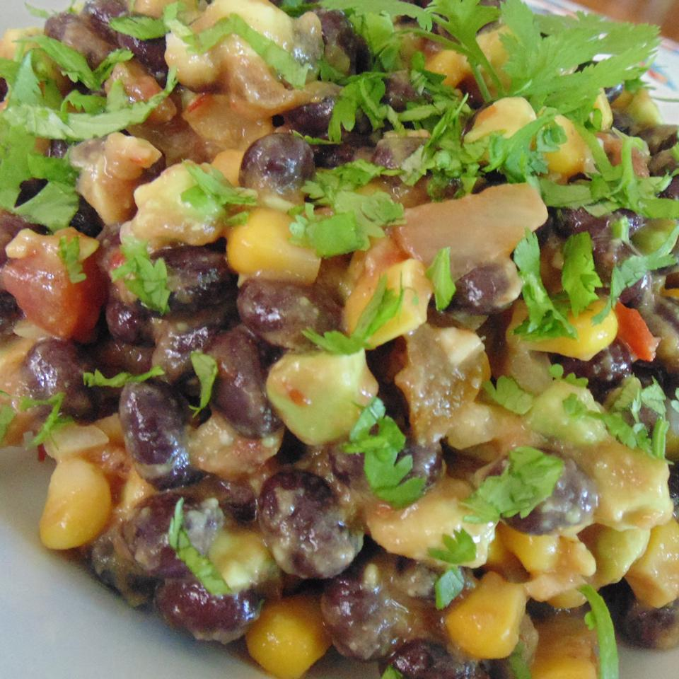 Mexican-Style Black Bean and Corn Salad smcvey