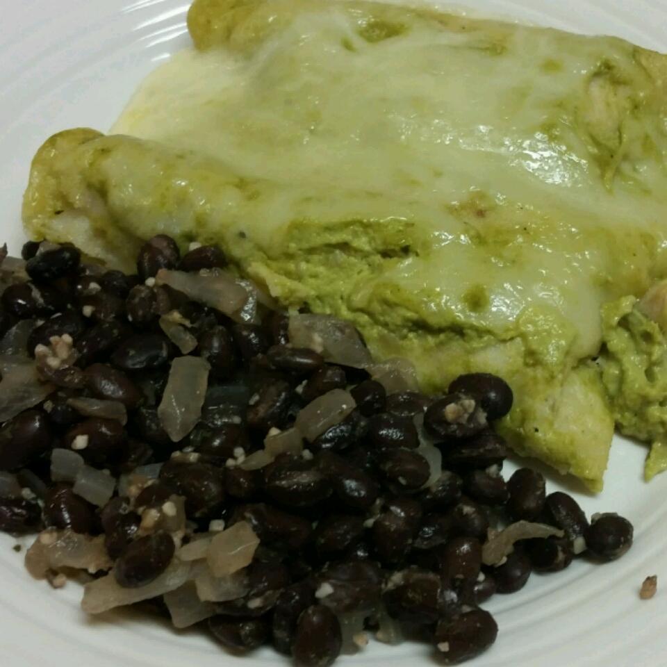 Poblano Chile Enchiladas a la Gringa seashelo
