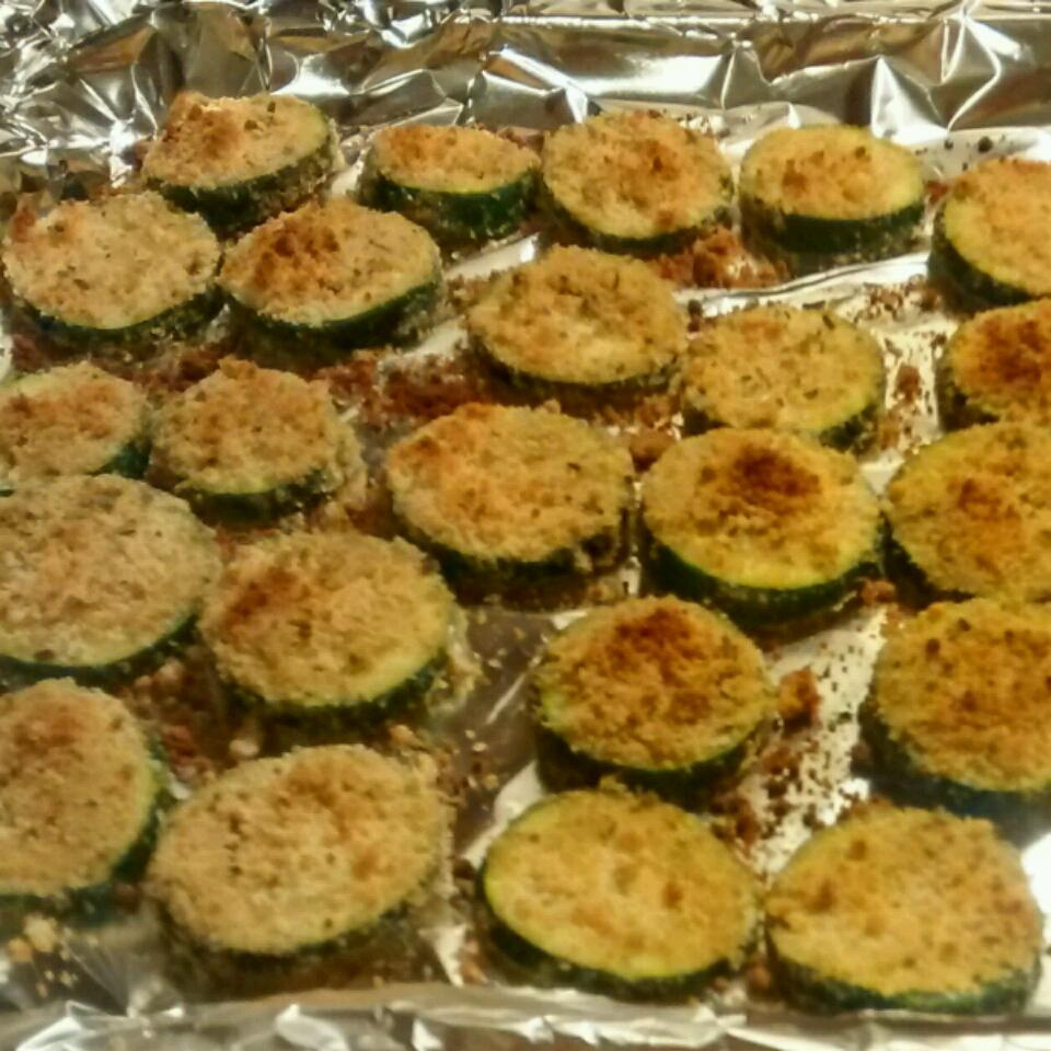Baked Zucchini Chips tbmission