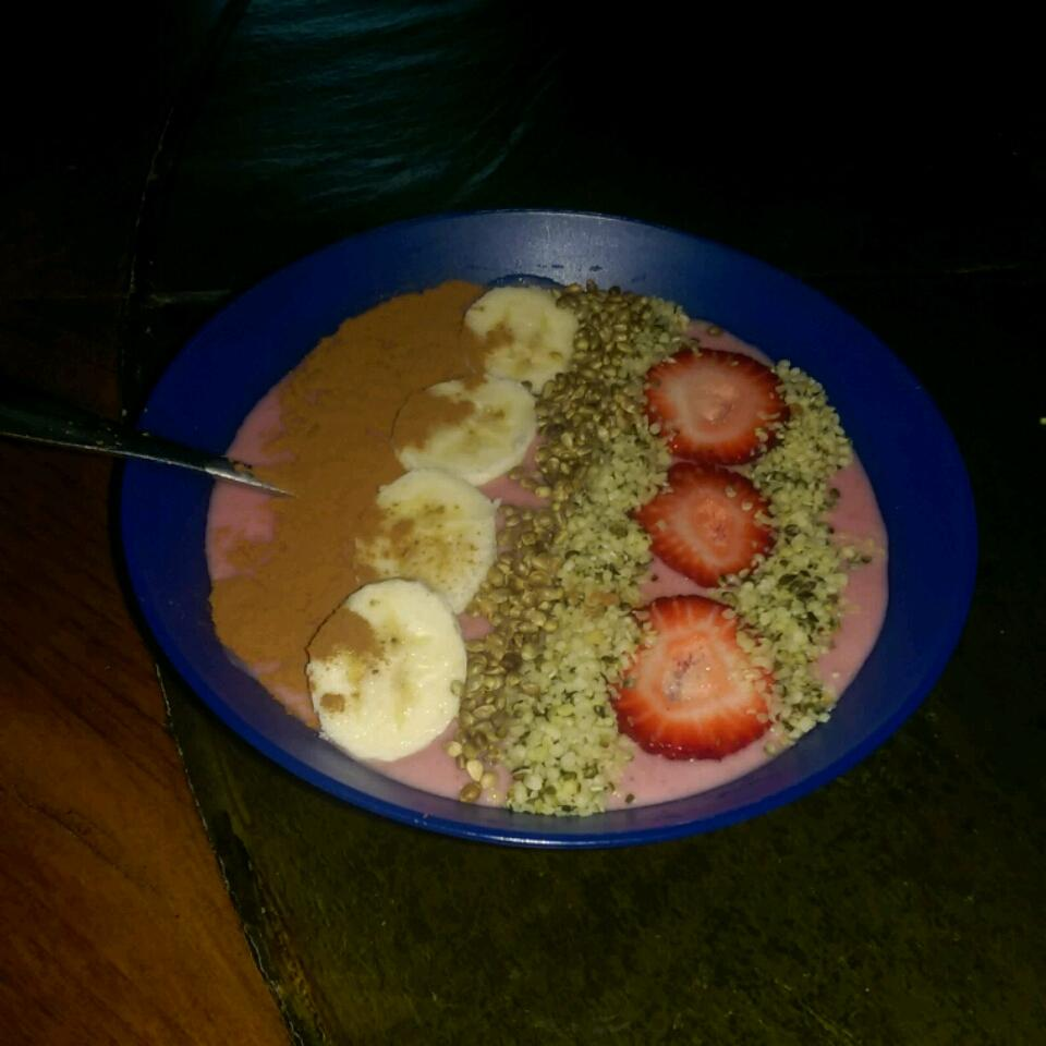 Strawberry Oatmeal Breakfast Smoothie Bri Fox