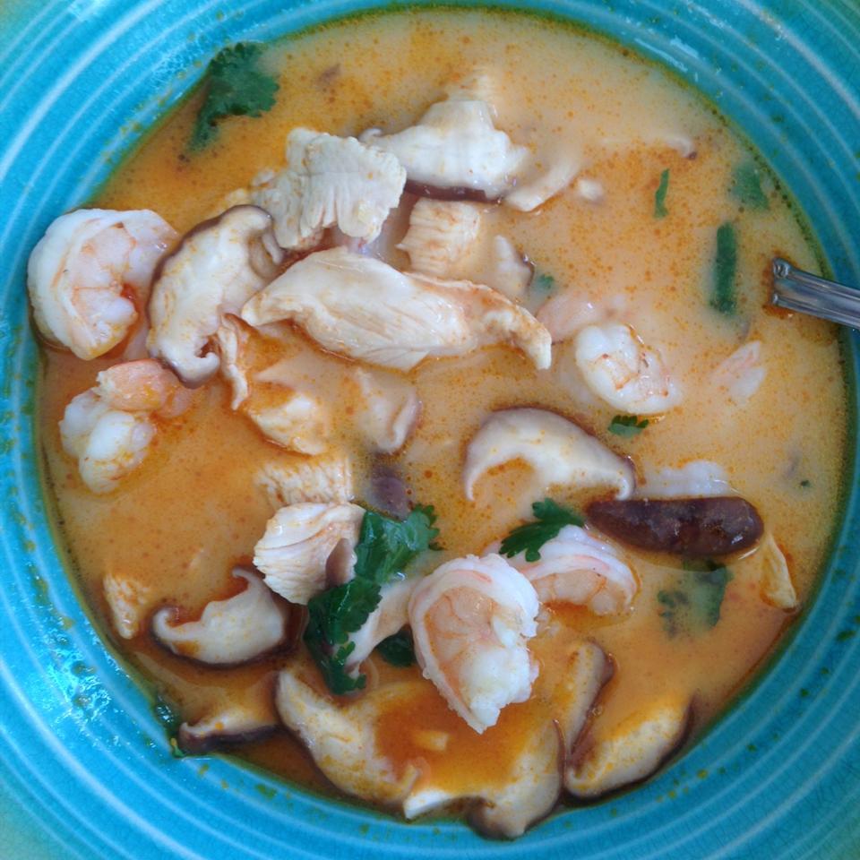 The Best Thai Coconut Soup Julia Manrubia-Morini