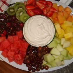 Super Easy Fruit Dip