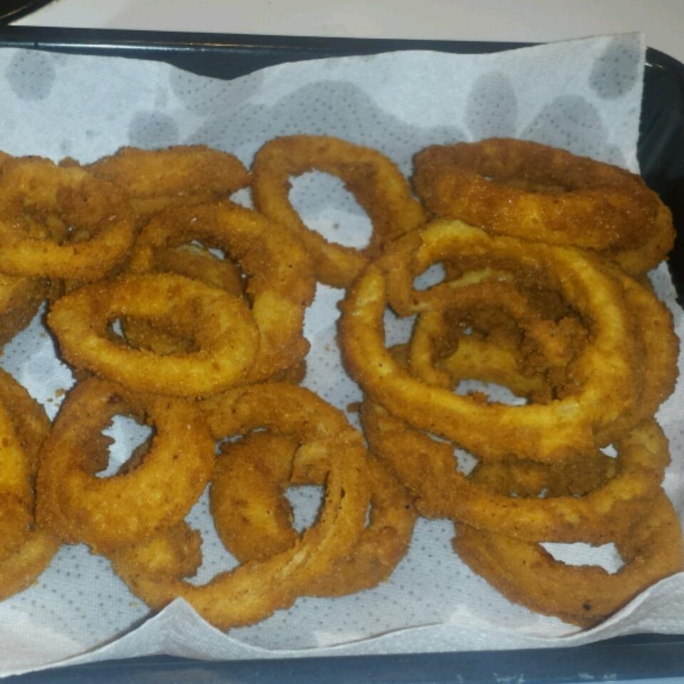 Sweet Baked Onion Rings Shayna Maciborski