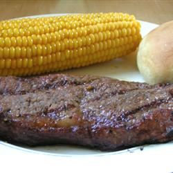 Sirloin Steak with Garlic Butter Amanda