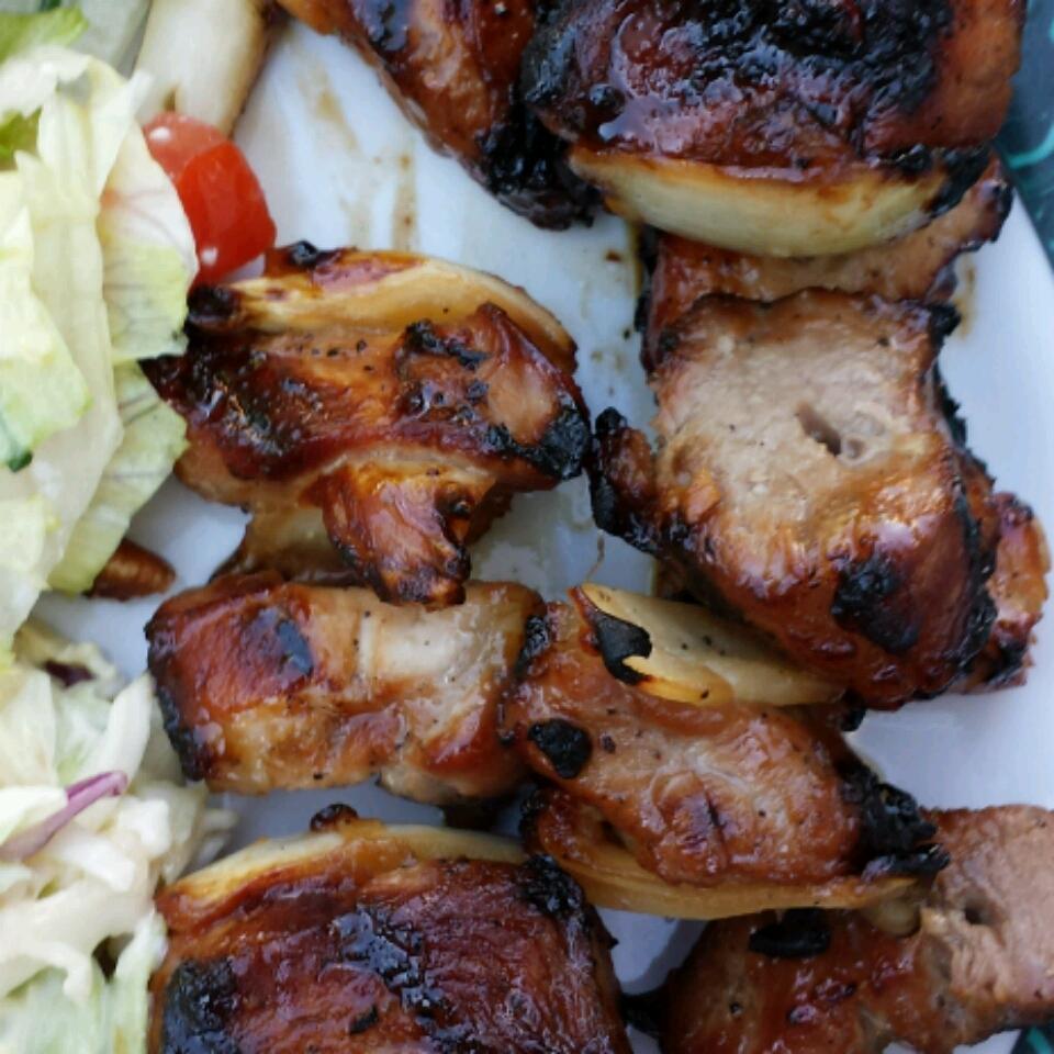 Barbecued Pork Kebabs