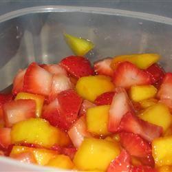 Mango-Strawberry Salsa FNChef