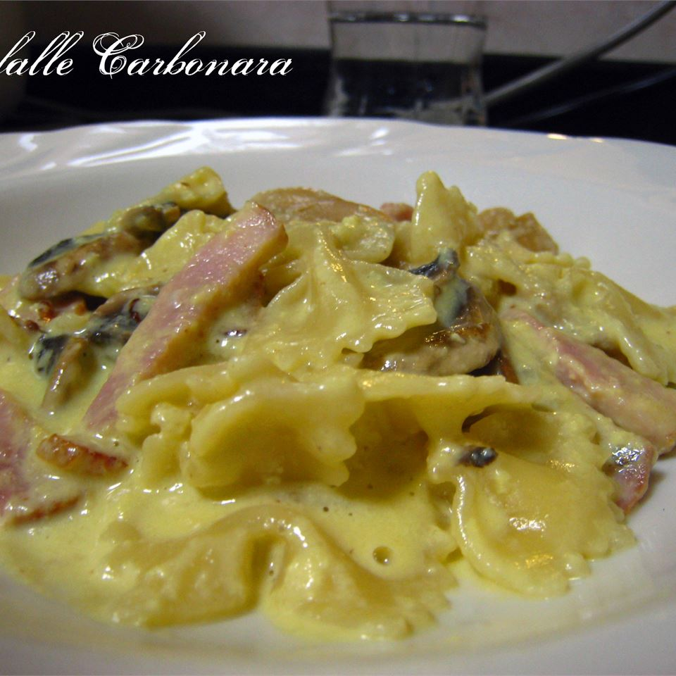Fettucine Carbonara CLUVY
