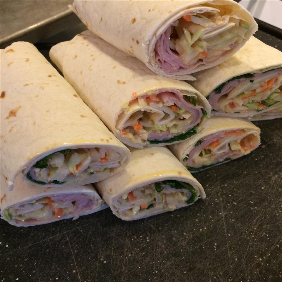 Rowing Team's Turkey Reuben Wraps 92DORE