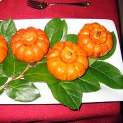 Baked Miniature Pumpkins ULTRAGIRL