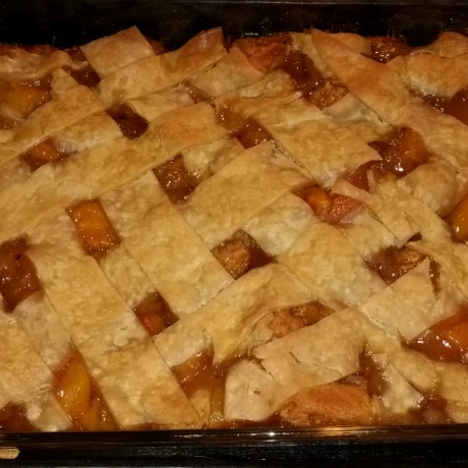 Butter Biscuit Peach Cobbler