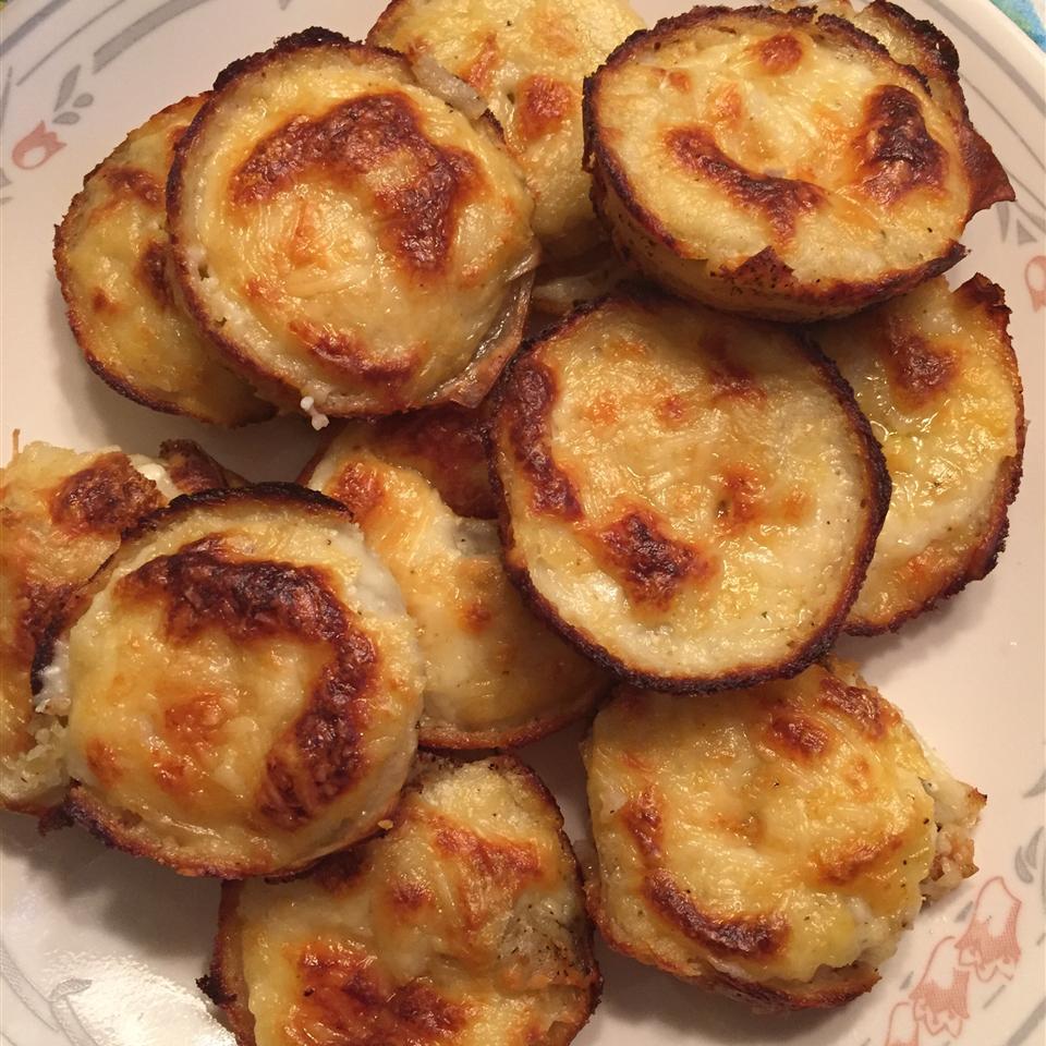Muffin Tin Potatoes Gratin Michele