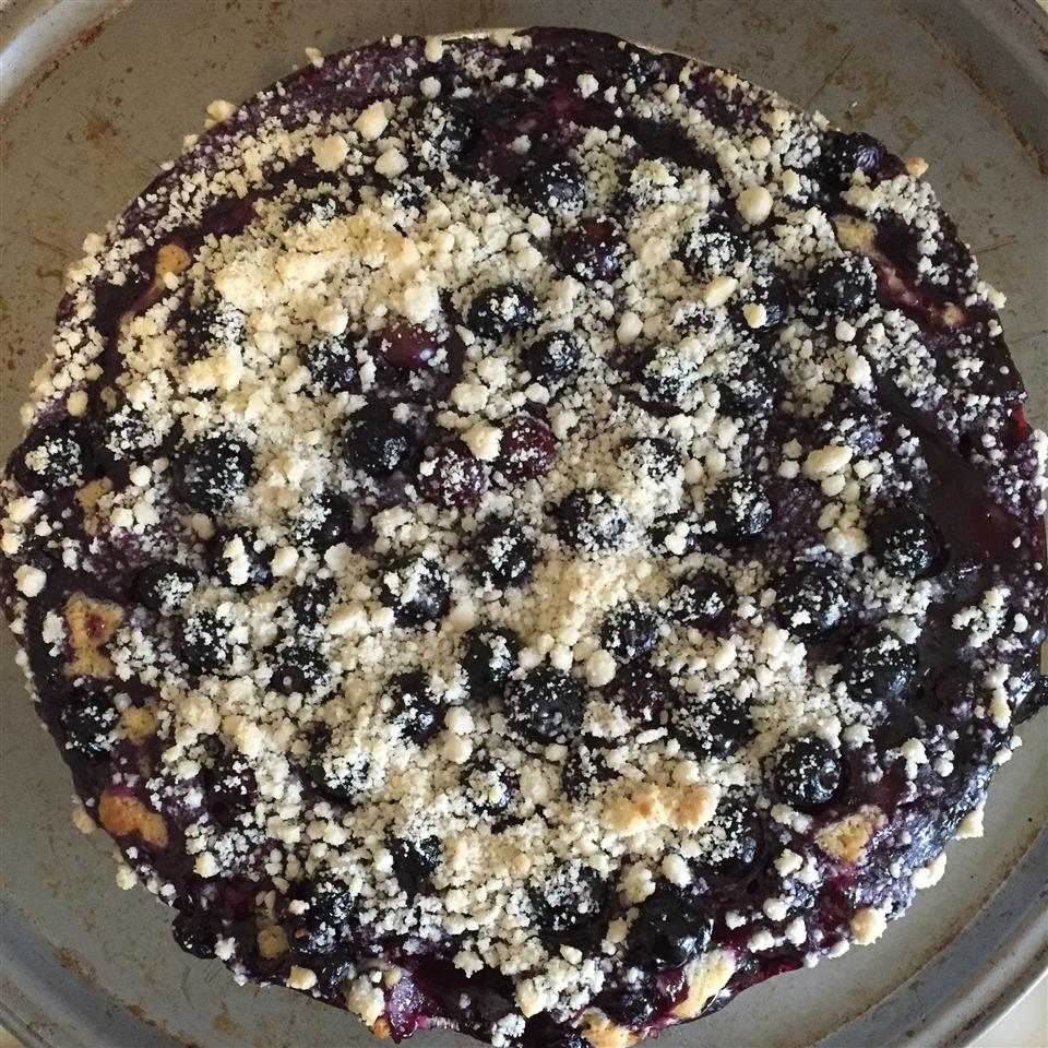 Yummy Blueberry Breakfast Cake