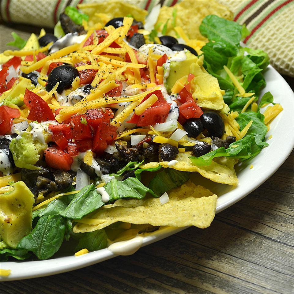 Easy Black Bean Taco Salad