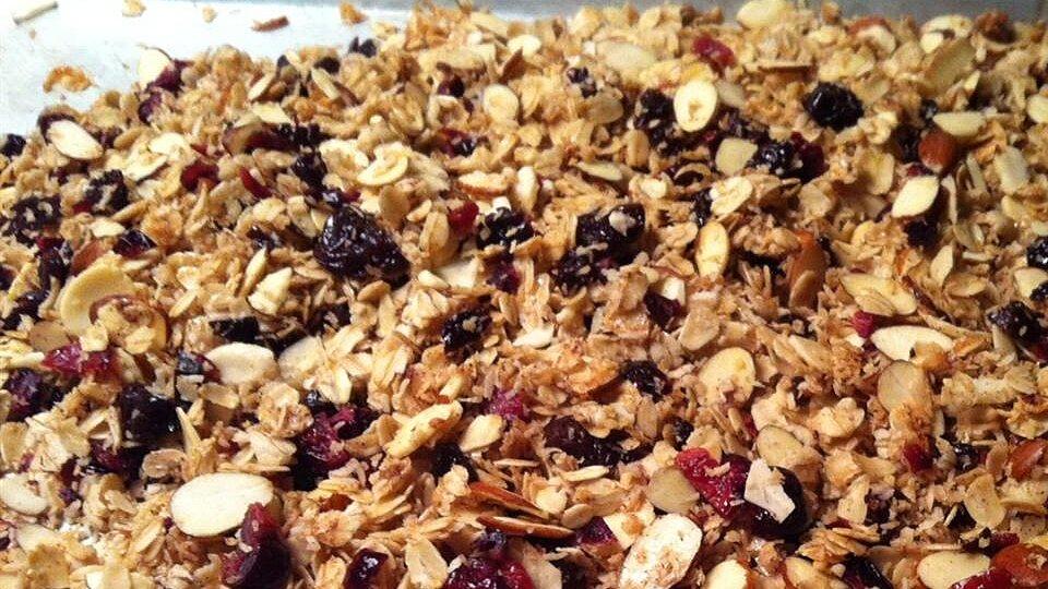 Cranberry-Hibiscus Granola