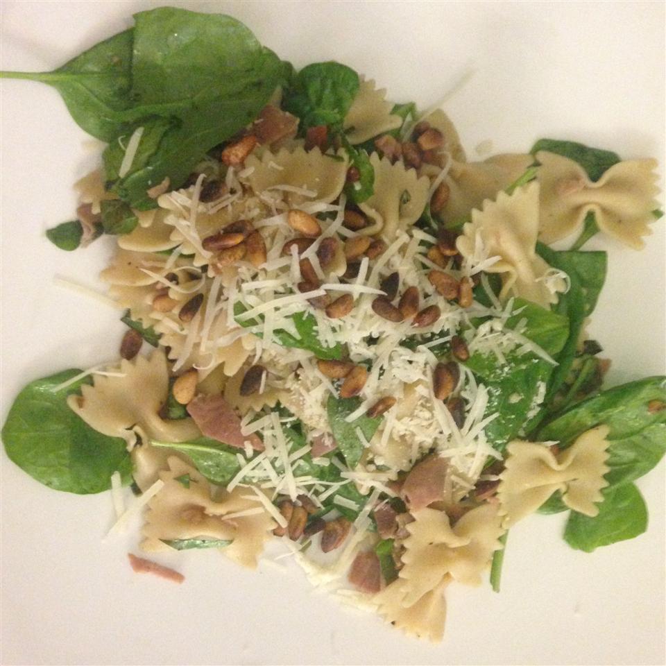 Spinach Basil Pasta Salad Tallrific