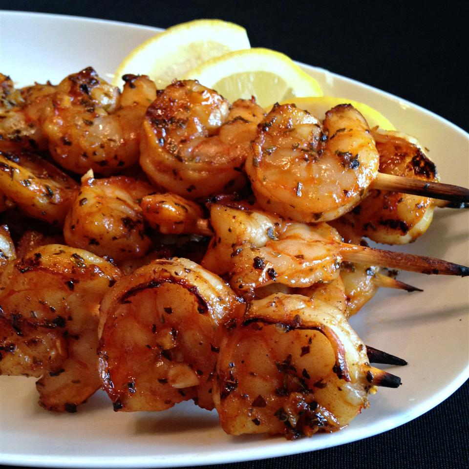 Grilled Garlic and Herb Shrimp berly15216