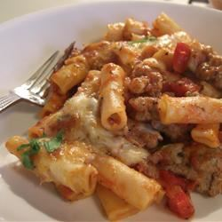 Baked Rigatoni with Italian Sausage and Fennel kaspmary