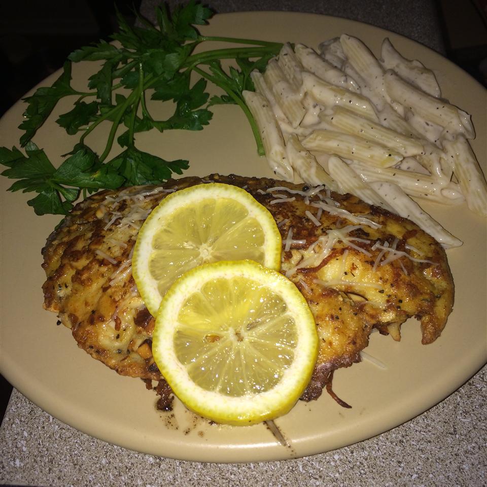 Almond-Crusted Tilapia Lilian