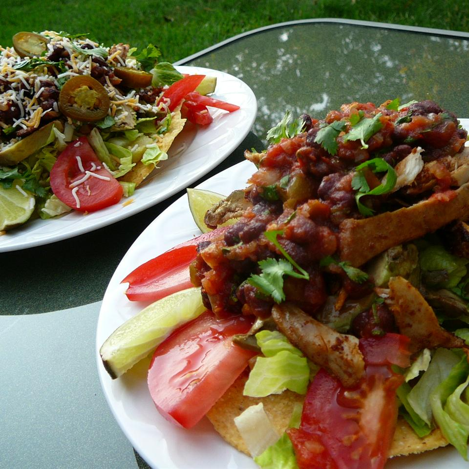 Grilled Chicken Taco Salad Molly