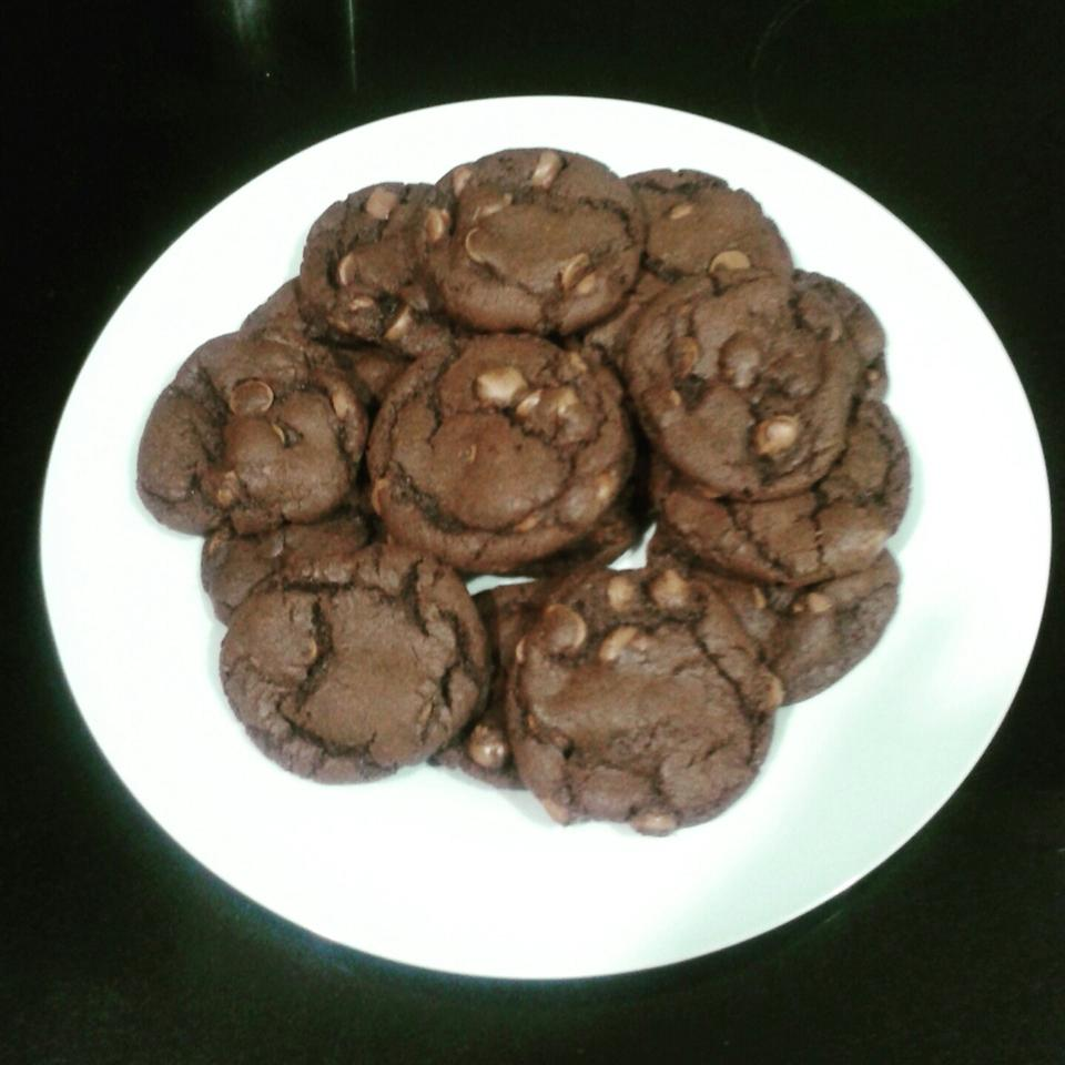 The Best Double Chocolate Chip Cookie