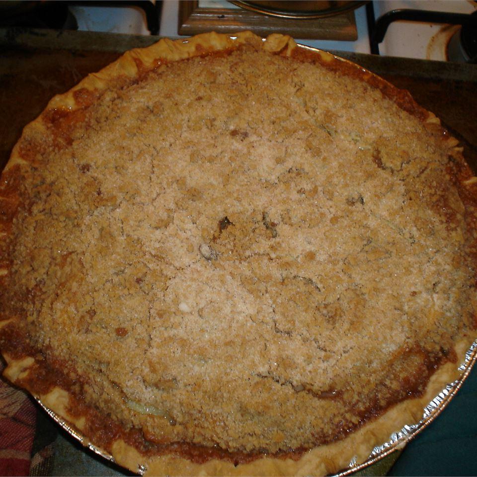 Warm Apple Buttermilk Custard Pie BostonLiz