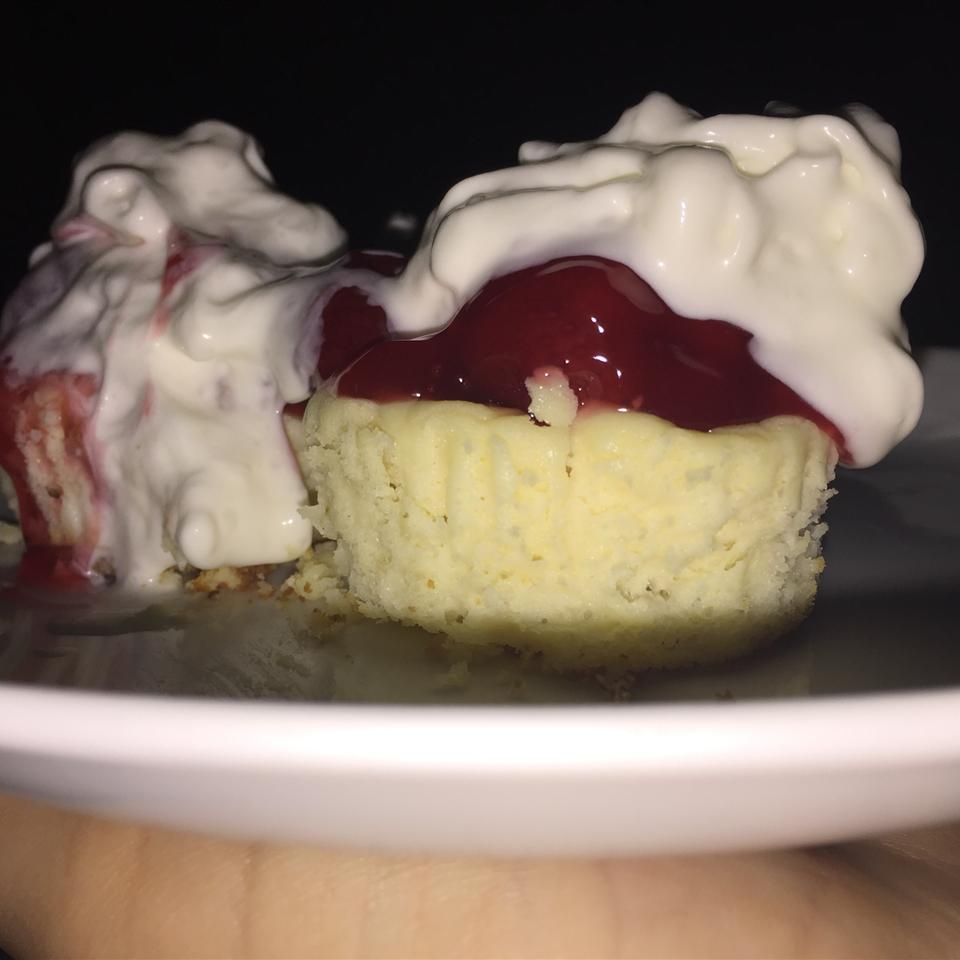 Bite-Sized Cheesecake Cupcakes