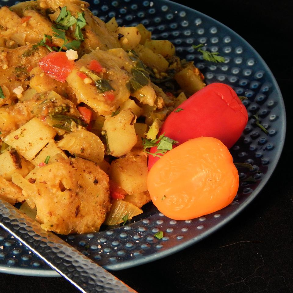 Caribbean Potato Curry