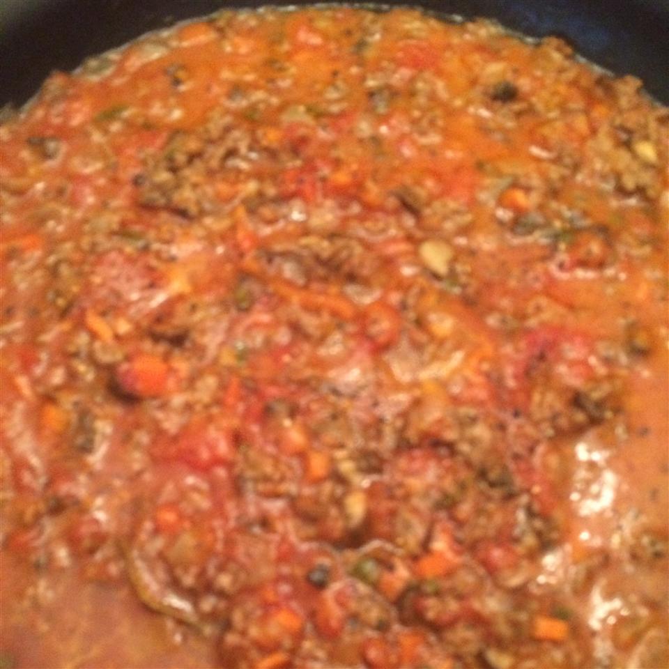 North Italian Meat Sauce (Ragu Bolognese)
