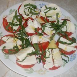 Owen's Mozzarella and Tomato Salad Sarah Keller