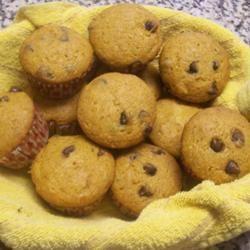 Barb's Pumpkin Chocolate Chip Muffins
