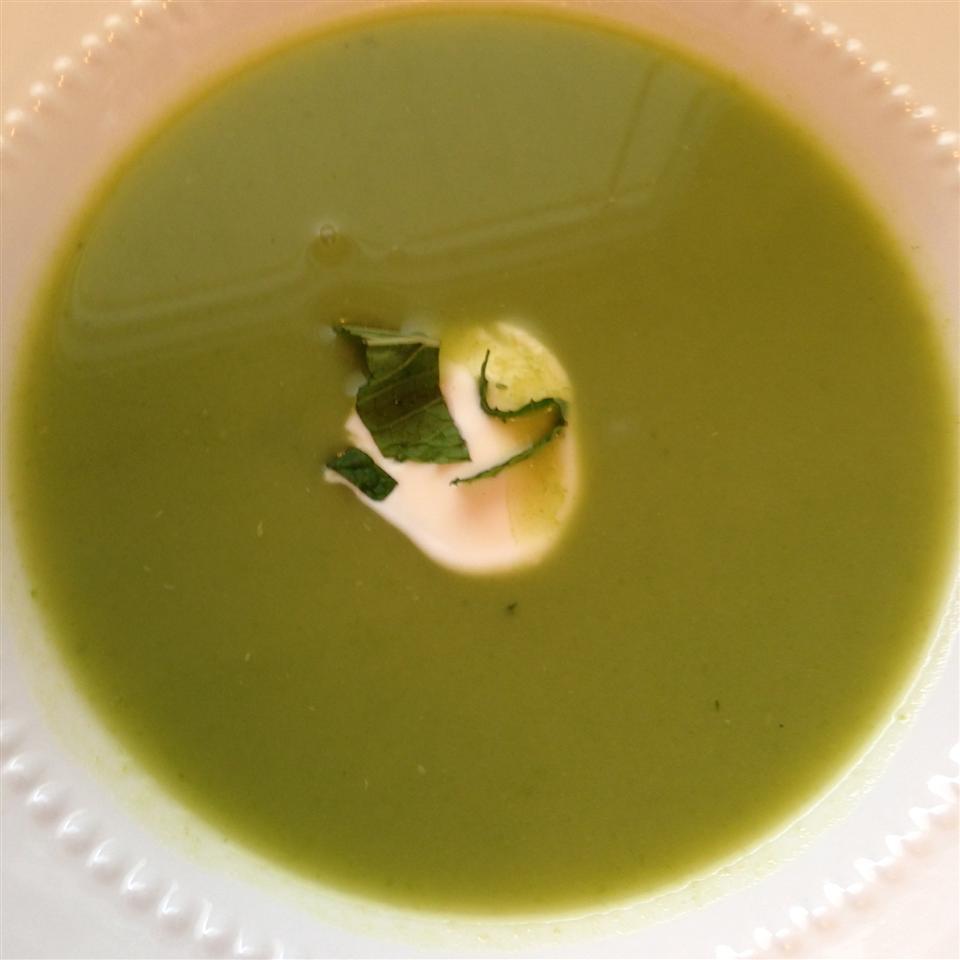 Chilled Sugar Snap Pea Soup Yaya_77