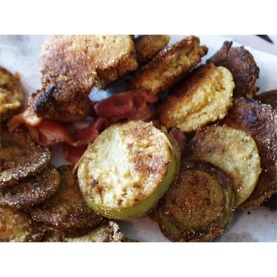 Kentucky Style Fried Green Tomatoes Boolicious Nummies!