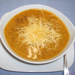 Smoky Sweet Pea Soup