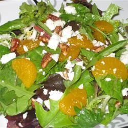 Mandarin Orange, Gorgonzola and Almond Delight Fit&Healthy Mom