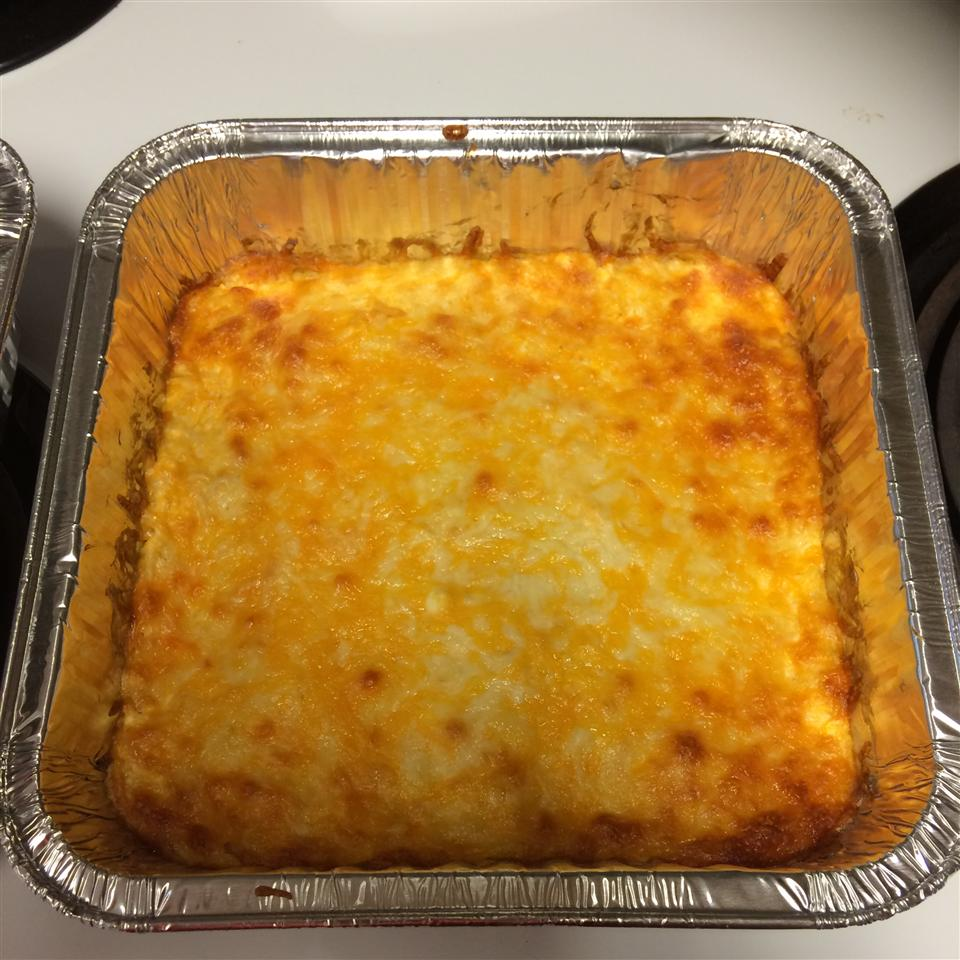 Buffalo Ranch Chicken and Cheese Dip