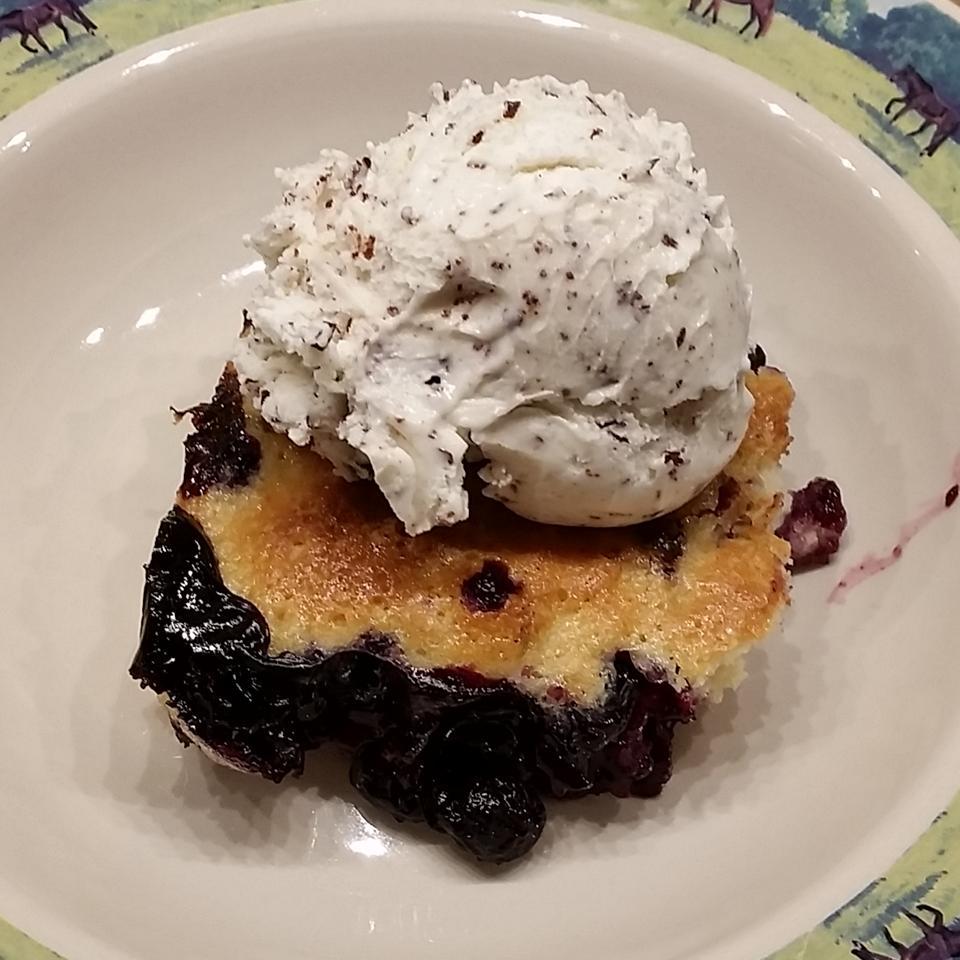 Mennonite Blueberry Cobbler Sue Seidenspinner Durjan