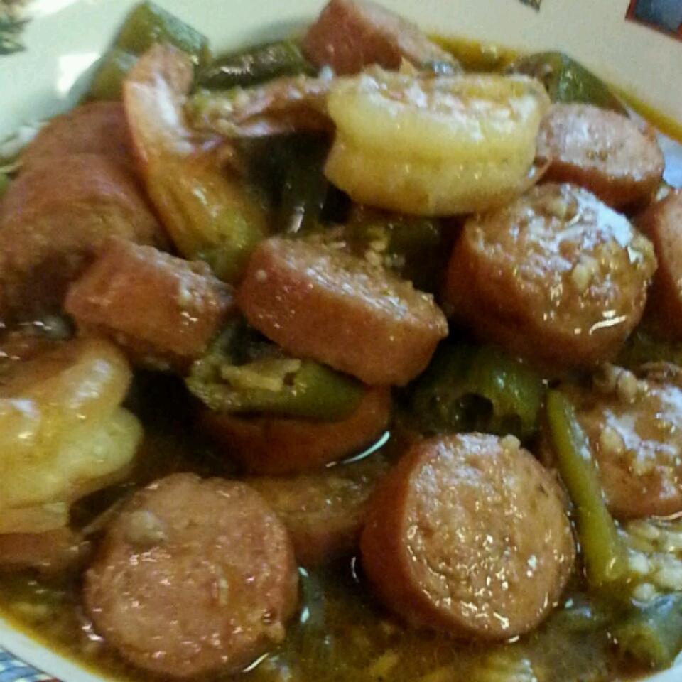 Sausage and Shrimp Gumbo