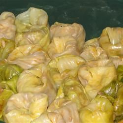 Sarmale (Stuffed Cabbage or Vine Leaves) RodicaG