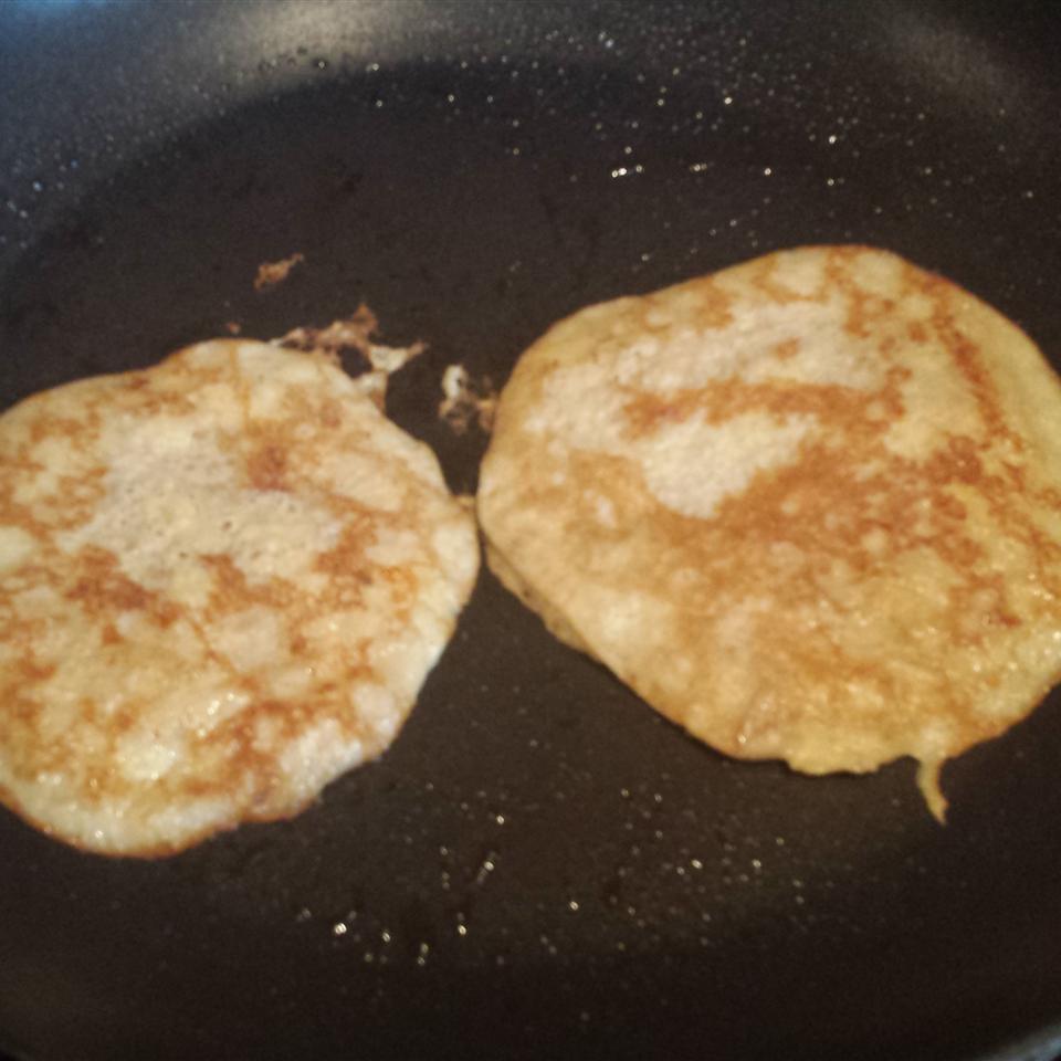 Deliciously Healthy Paleo Pancakes With Banana and Walnuts Coondog