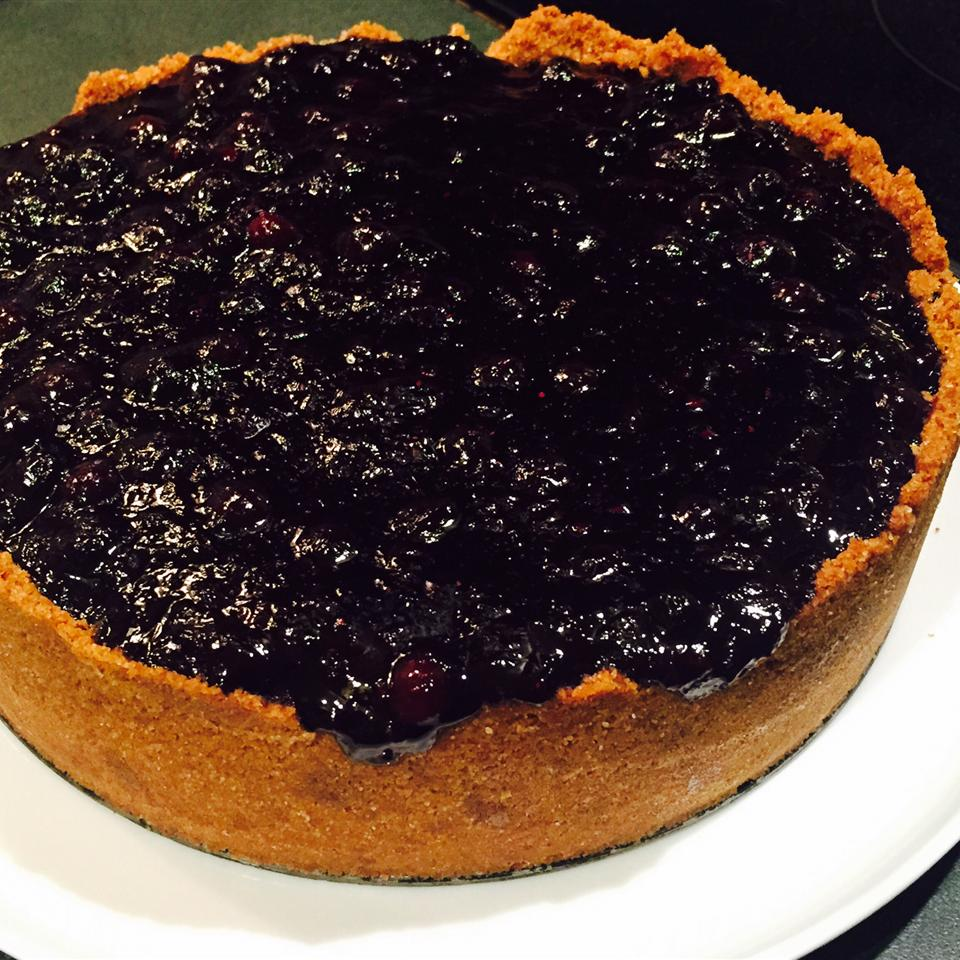 Blueberry Cheesecake Pie dingaling