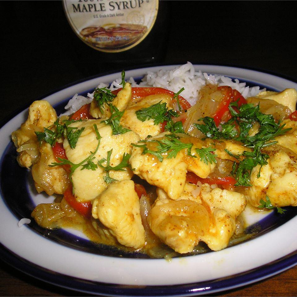 Maple-Curry Chicken gapch1026
